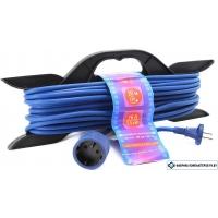 Сетевой фильтр Power Cube 30 м (синий/черный) [PC-L1-F-30-R]