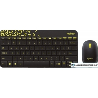 Мышь + клавиатура Logitech MK240 Nano [920-008213]
