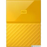 Внешний жесткий диск WD My Passport 1TB [WDBBEX0010BYL]