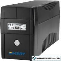 Источник бесперебойного питания IНЭЛТ ALPHA 650VA SCHUKOx2 (IN650-AL) LCD