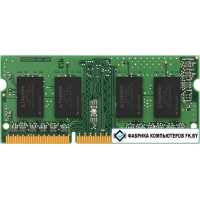 Оперативная память Kingston ValueRam 4GB DDR4 SODIMM PC4-19200 [KVR24S17S8/4]
