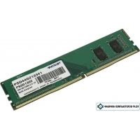 Оперативная память Patriot 4GB DDR4 PC4-17000 [PSD44G213341]