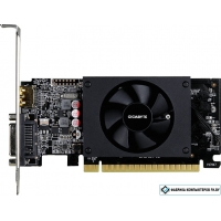 Видеокарта Gigabyte GeForce GT 710 2GB GDDR5 [GV-N710D5-2GL]