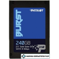 SSD Patriot Burst 240GB PBU240GS25SSDR