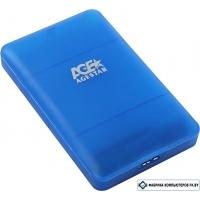 Бокс для жесткого диска AgeStar 3UBCP3 (синий)