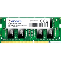 Оперативная память A-Data Premier 8GB DDR4 SODIMM PC4-17000 AD4S213338G15-B