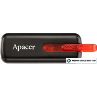 USB Flash Apacer Handy Steno AH326 Black 32GB (AP32GAH326B-1)