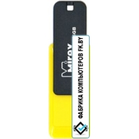 USB Flash Mirex Color Blade City 16GB (желтый) [13600-FMUCYL16]
