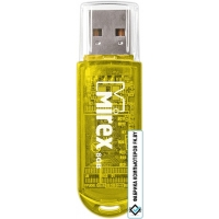 USB Flash Mirex Color Blade Elf Yellow 8GB [13600-FMUYEL08]