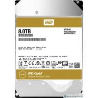 Жесткий диск WD Gold 8TB WD8003FRYZ