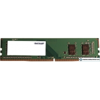 Оперативная память Patriot Signature Line 4GB DDR4 PC4-19200 PSD44G240041