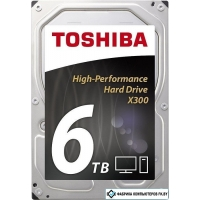 Жесткий диск Toshiba X300 6TB [HDWE160EZSTA]