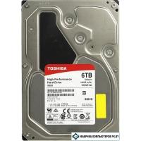 Жесткий диск Toshiba X300 6TB [HDWE160UZSVA]