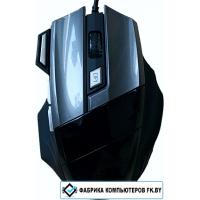 Игровая мышь Dowell MG-100 (черный/серый)