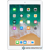 Планшет Apple iPad 2018 32GB LTE MR6P2 (серебристый)
