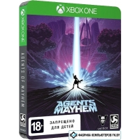 Игра Agents of Mayhem. Steelbook Edition для Xbox One