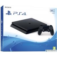 Игровая приставка Sony PlayStation 4 Slim 500GB (черный)