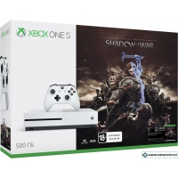 Игровая приставка Microsoft Xbox One S Shadow of War 500GB