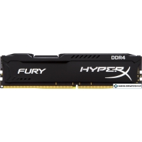 Оперативная память HyperX Fury 16GB DDR4 PC4-27700 HX434C19FB/16