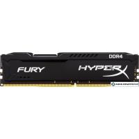 Оперативная память HyperX Fury 8GB DDR4 PC4-25600 HX432C18FB2/8