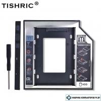 Оптибэй Optibay переходник DVD-каретки на SATA 2.5 разъем TISHRIC (SATA (3.0), 9.5 мм)