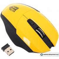 Мышь Jet.A Comfort OM-U38G (черный/желтый)