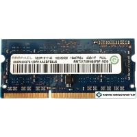 Оперативная память Ramaxel 4GB DDR3 SODIMM PC3-12800 RMT3170MN68F9F-1600