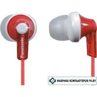 Наушники Panasonic  RP-HJE120 Red