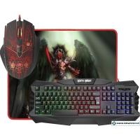 Мышь + клавиатура + коврик Defender Death Knight MKP-007 RU