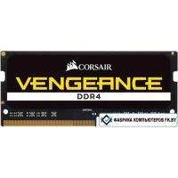 Оперативная память Corsair Vengeance 8GB DDR4 SODIMM PC4-19200 CMSX8GX4M1A2400C16