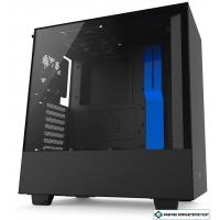 Корпус NZXT H500 (черный/синий)