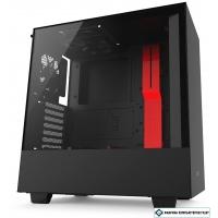 Корпус NZXT H500 (черный/красный)