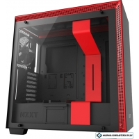 Корпус NZXT H700 (черный/красный)