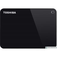 Внешний жесткий диск Toshiba Canvio Advance HDTC910EK3AA 1TB (черный)