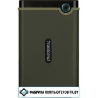 Внешний жесткий диск Transcend StoreJet 25M3 1TB (зеленый)