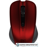 Мышь Jet.A Comfort OM-U36G (красный/черный)