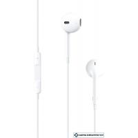 Наушники с микрофоном Apple EarPods с разъёмом 3.5 мм [MNHF2]