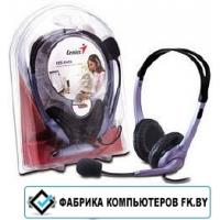 Наушники с микрофоном Genius HS-04S