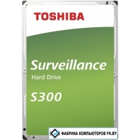 Жесткий диск Toshiba S300 6TB HDWT360UZSVA