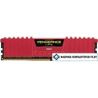 Оперативная память Corsair Vengeance LPX Black 8GB DDR4 PC4-19200 [CMK8GX4M1A2400C16R]