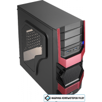 Корпус AeroCool Cyclops Advance Red Edition