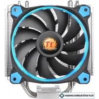 Кулер для процессора Thermaltake Riing Silent 12 (синий) [CL-P022-AL12BU-A]