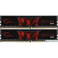 Оперативная память G.Skill Aegis 2x4GB DDR4 PC4-19200 F4-2400C15D-8GIS