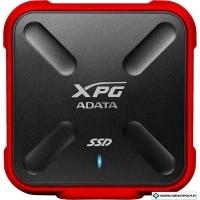 Внешний накопитель A-Data XPG SD700X ASD700X-256GU3-CRD 256GB (черный/красный)