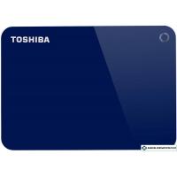 Внешний накопитель Toshiba Canvio Advance HDTC910EL3AA 1TB (синий)