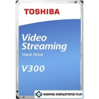 Жесткий диск Toshiba Video V300 1TB HDWU110UZSVA