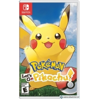 Игра Pokemon: Let's Go, Pikachu! для Nintendo Switch