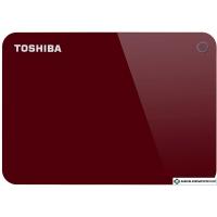 Внешний накопитель Toshiba Canvio Advance HDTC910ER3AA 1TB (красный)