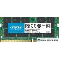 Оперативная память Crucial 16GB DDR4 SODIMM PC4-19200 CT16G4TFD824A