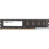 Оперативная память AMD Radeon R5 Entertainment 4GB DDR3 PC3-12800 R534G1601U1SL-U